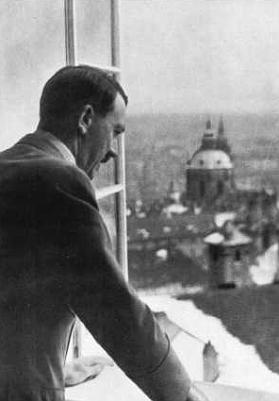 Hitler at Prague Castle