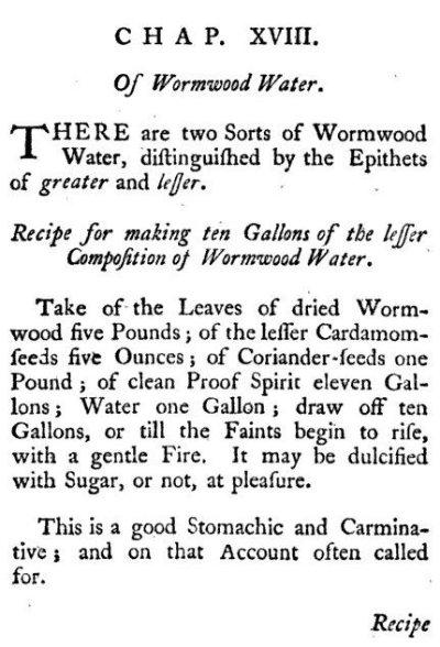 Wormwood Water