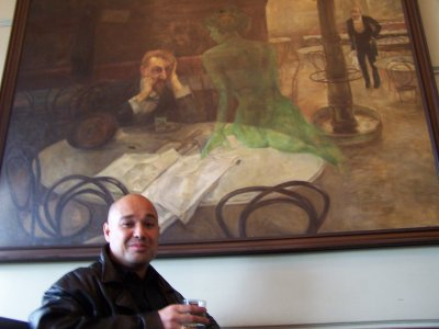 Cafe Slavia Absinth