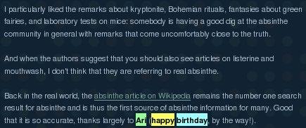 Wikipedia Remarks