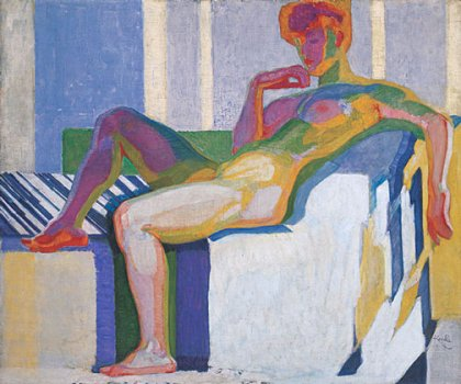 "Kupka ""Great Nude"" 1909"