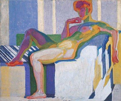"""Kupka """"Great Nude"""" 1909"""